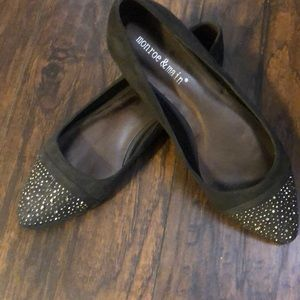 NWT Women's dress flats by Monroe and Main size 9
